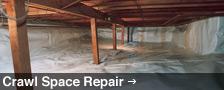 We Are Saskatchewan Crawl Space Repair Experts! - Learn More